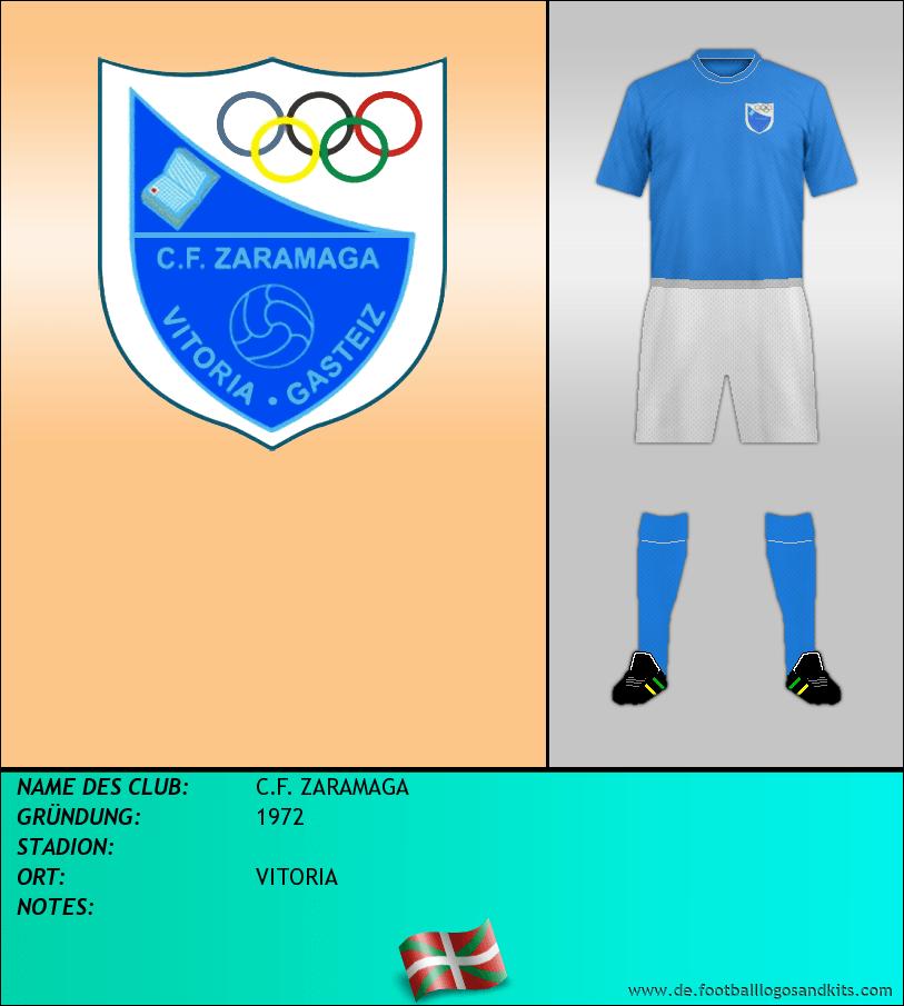 Logo C.F. ZARAMAGA