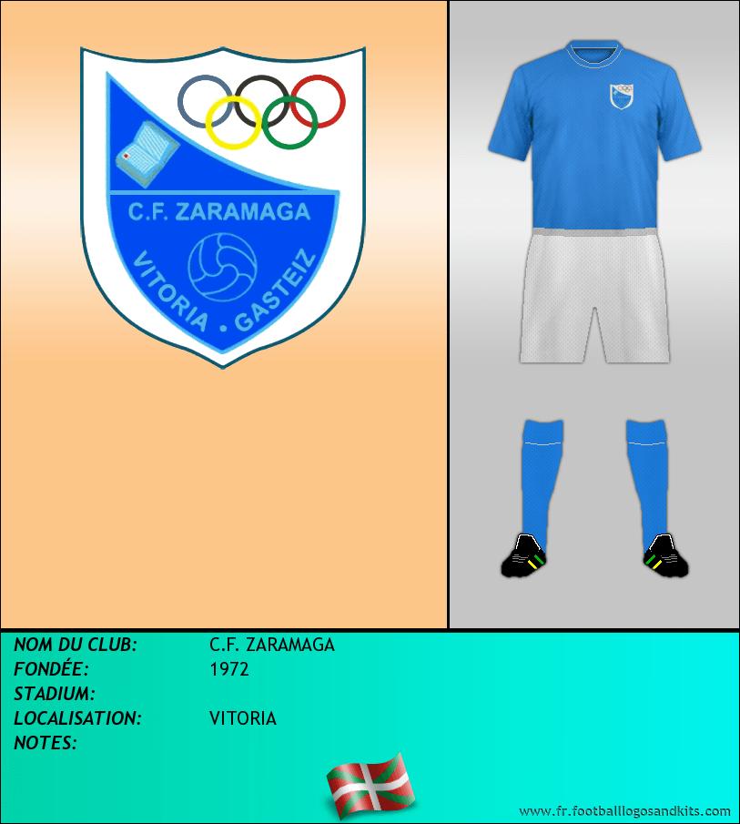 Logo de C.F. ZARAMAGA