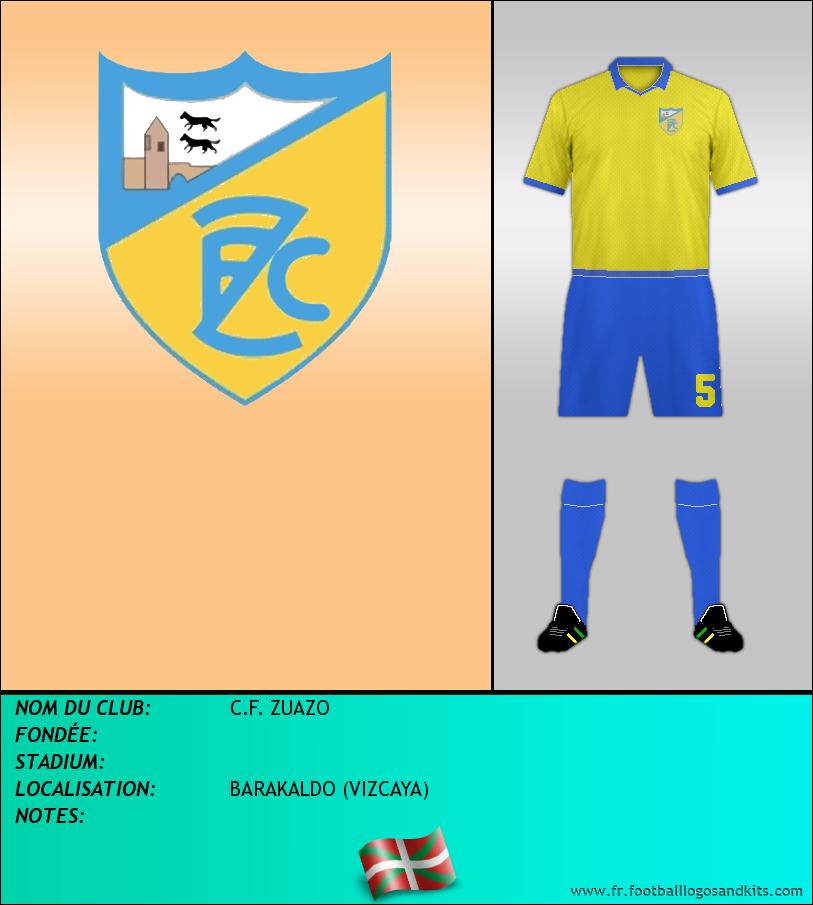 Logo de C.F. ZUAZO
