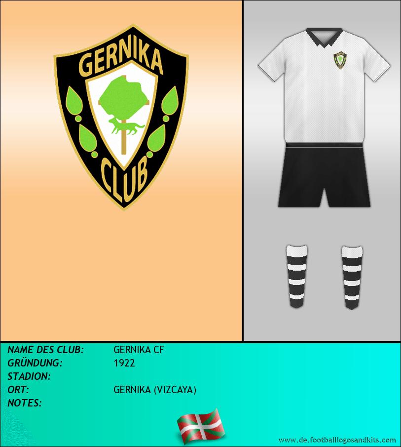 Logo GERNIKA CF