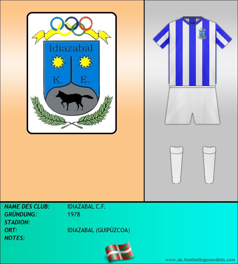 Logo IDIAZABAL C.F.