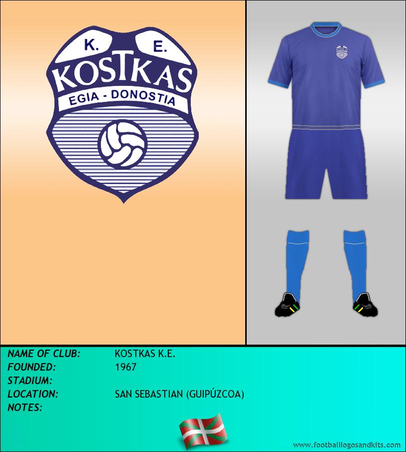 Logo of KOSTKAS K.E.