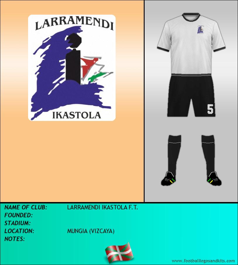 Logo of LARRAMENDI IKASTOLA F.T.