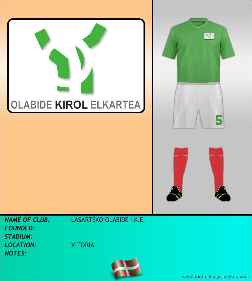 Logo of LASARTEKO OLABIDE I.K.E.