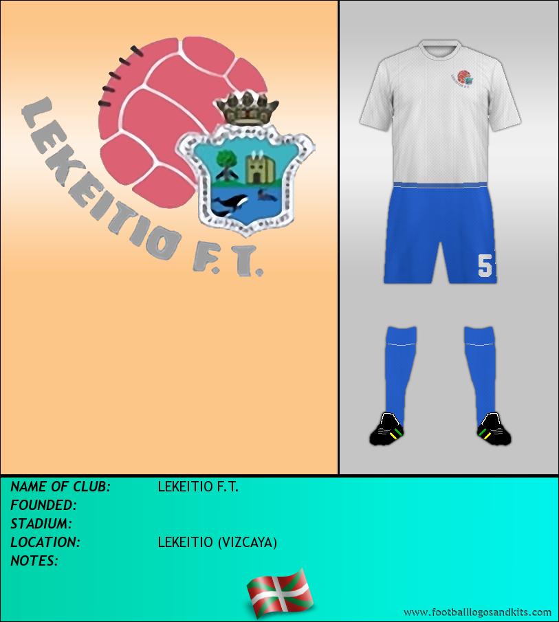 Logo of LEKEITIO F.T.