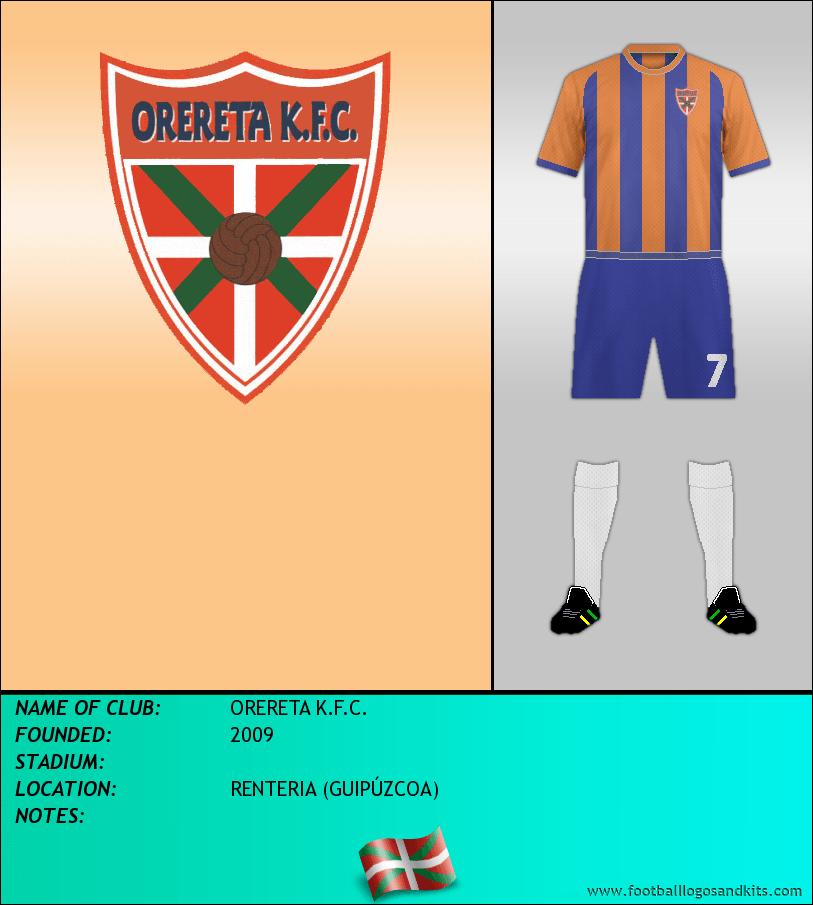Logo of ORERETA K.F.C.