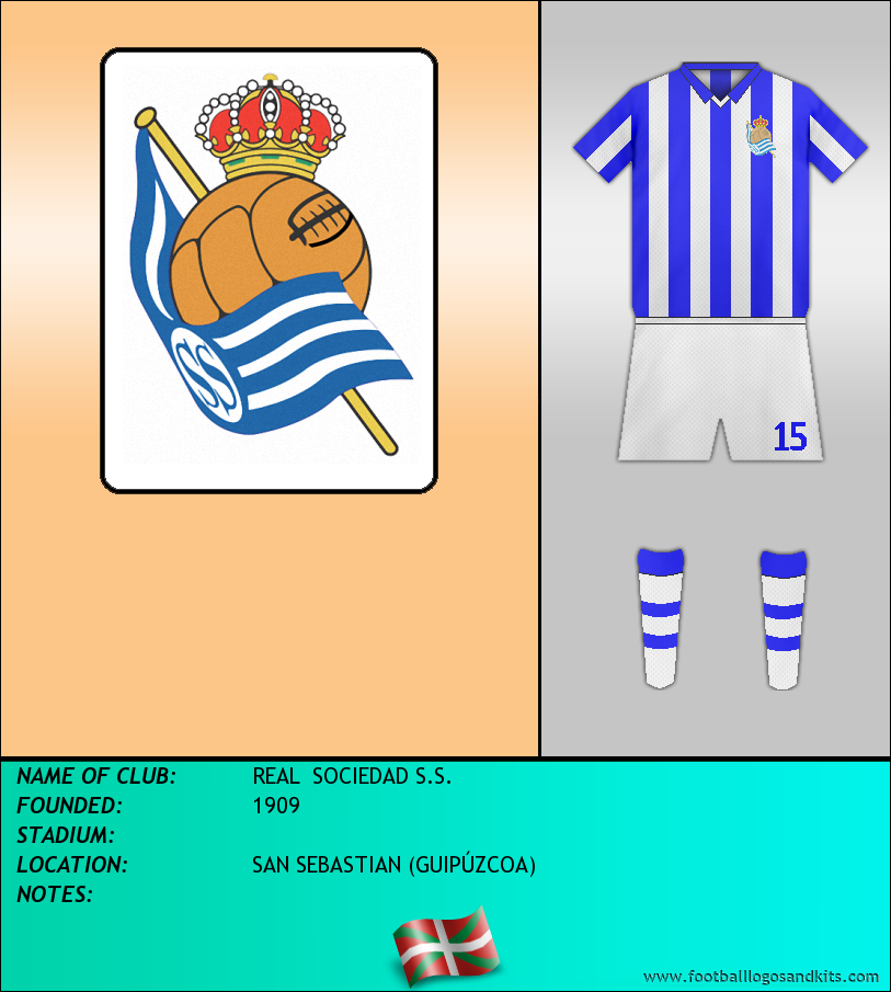 Logo of REAL  SOCIEDAD S.S.