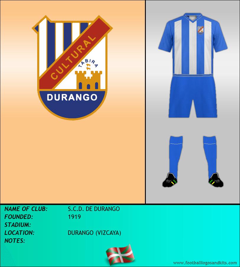 Logo of S.C.D. DE DURANGO