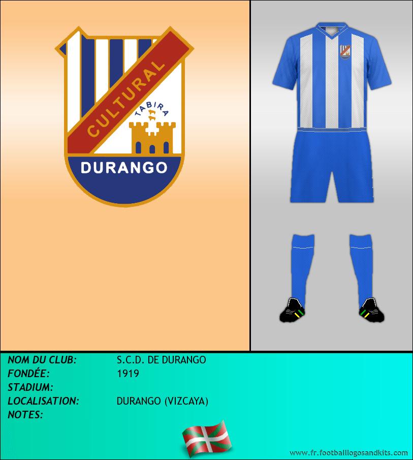 Logo de S.C.D. DE DURANGO