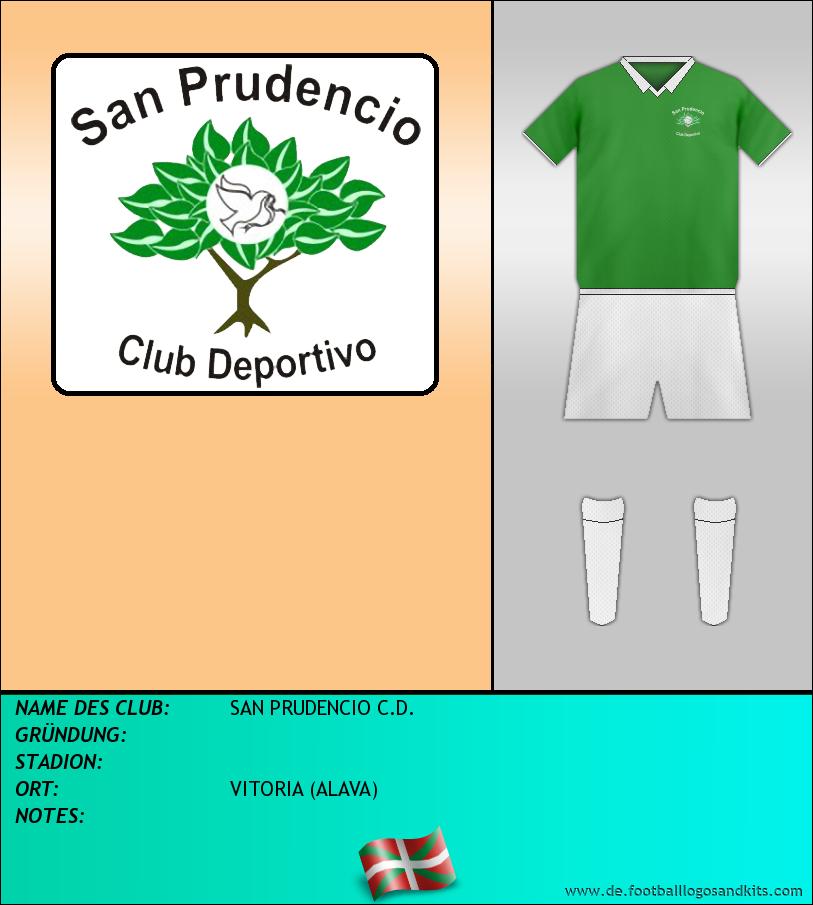 Logo SAN PRUDENCIO C.D.