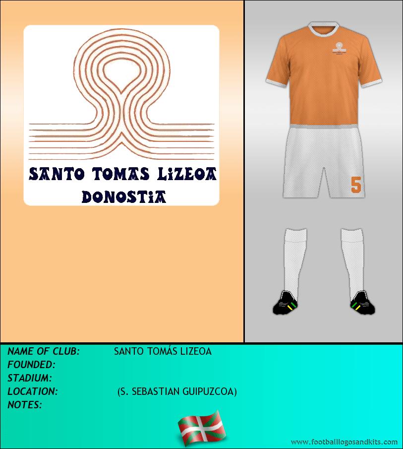 Logo of SANTO TOMÁS LIZEOA