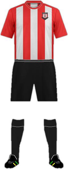Kit RED MIST F.C.