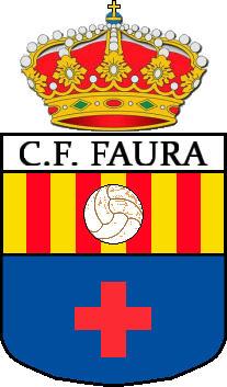Logo of C.F. FAURA (VALENCIA)