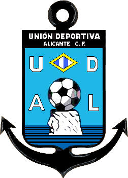 Logo of C.F. U.D. DE ALICANTE (VALENCIA)