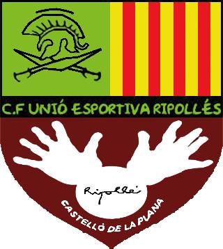 Logo of C.F. U.E. RIPOLLÉS (VALENCIA)