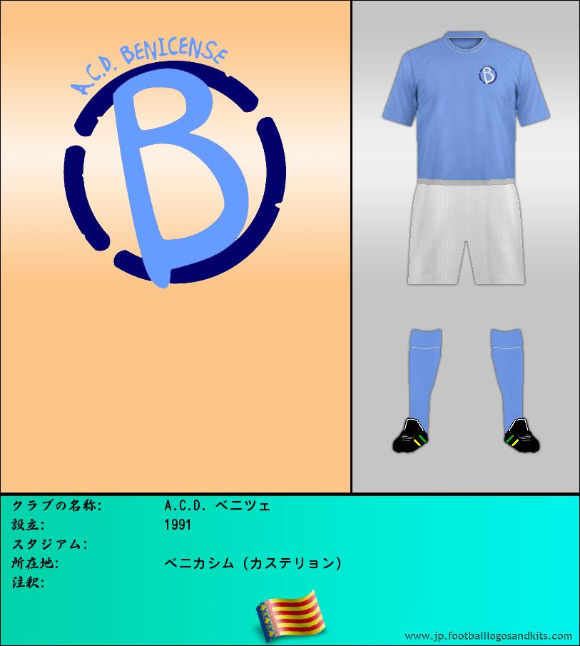 のロゴA.C.D. ベニツェ