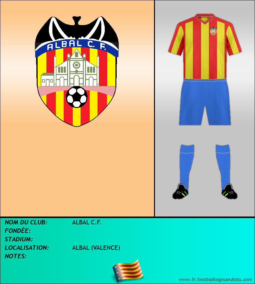 Logo de ALBAL C.F.