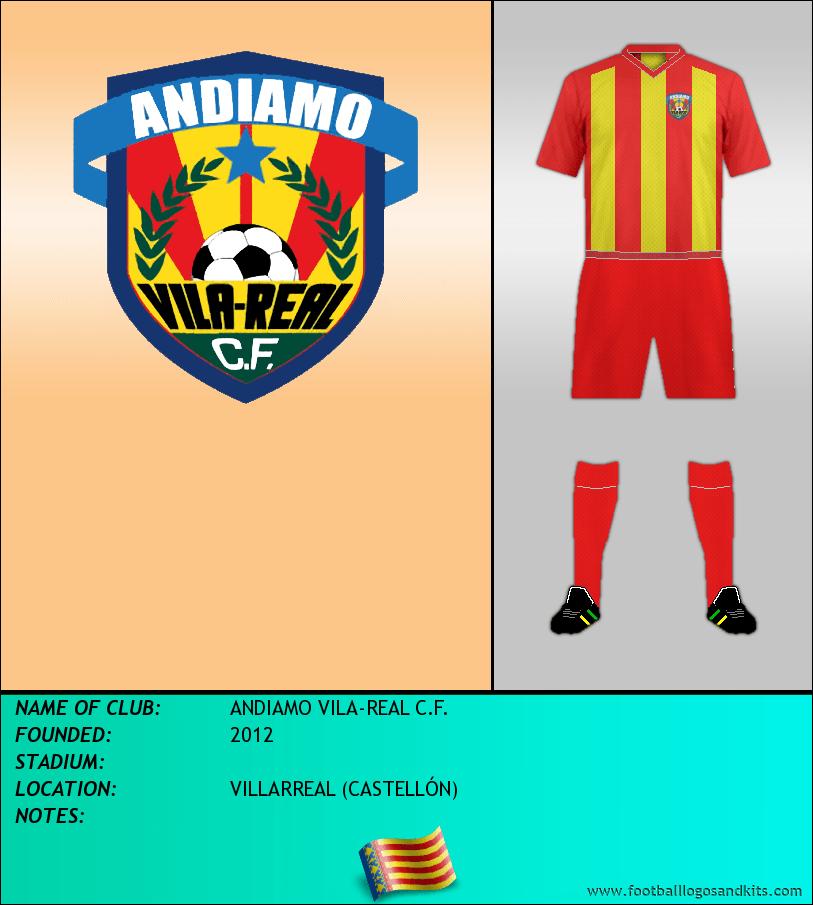 Logo of ANDIAMO VILA-REAL C.F.