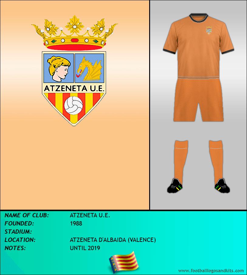 Logo of ATZENETA U.E.