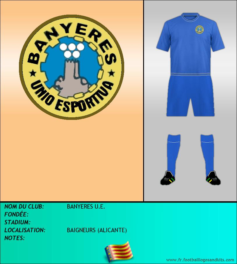 Logo de BANYERES U.E.