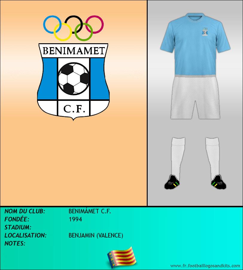 Logo de BENIMÁMET C.F.
