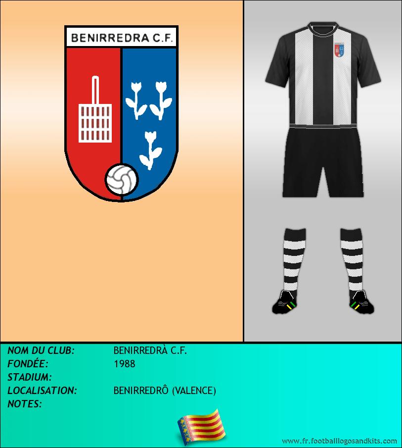 Logo de BENIRREDRÀ C.F.