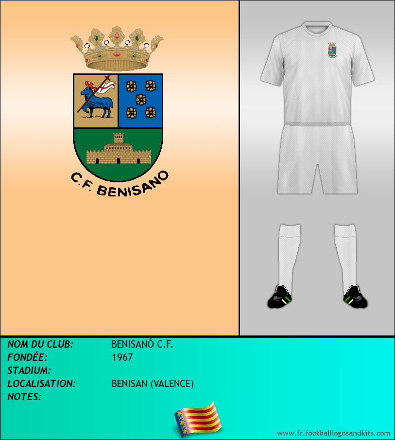 Logo de BENISANÓ C.F.