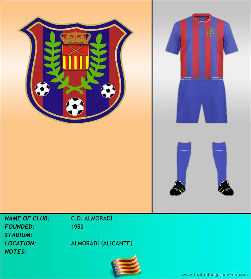 Logo of C.D. ALMORADÍ