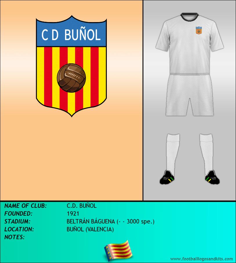 Logo of C.D. BUÑOL