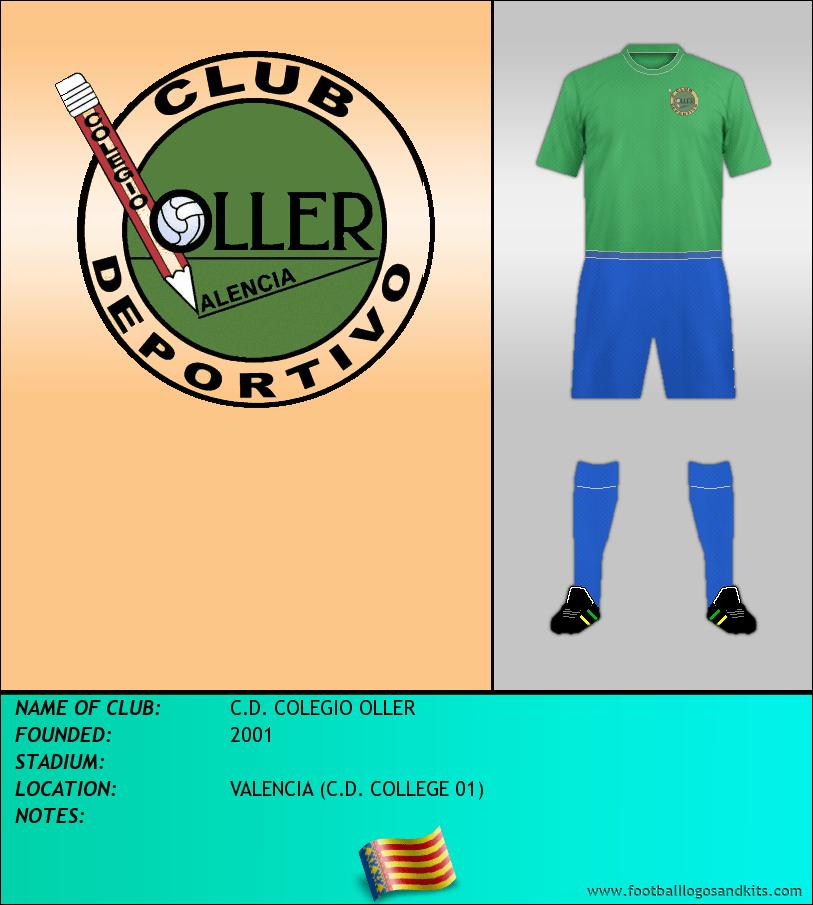 Logo of C.D. COLEGIO OLLER