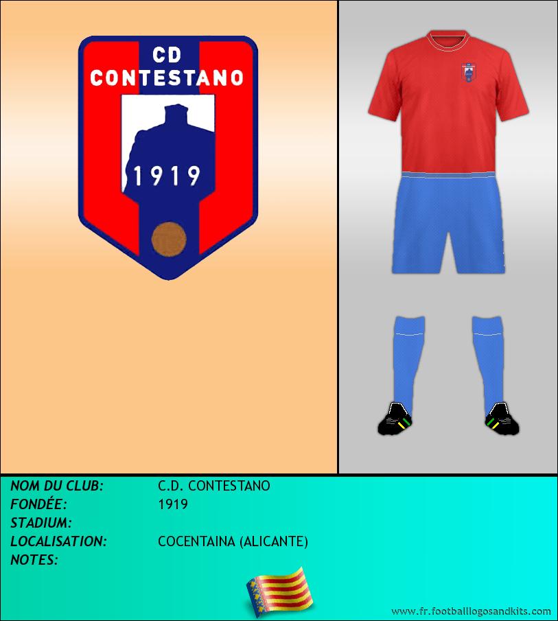 Logo de C.D. CONTESTANO