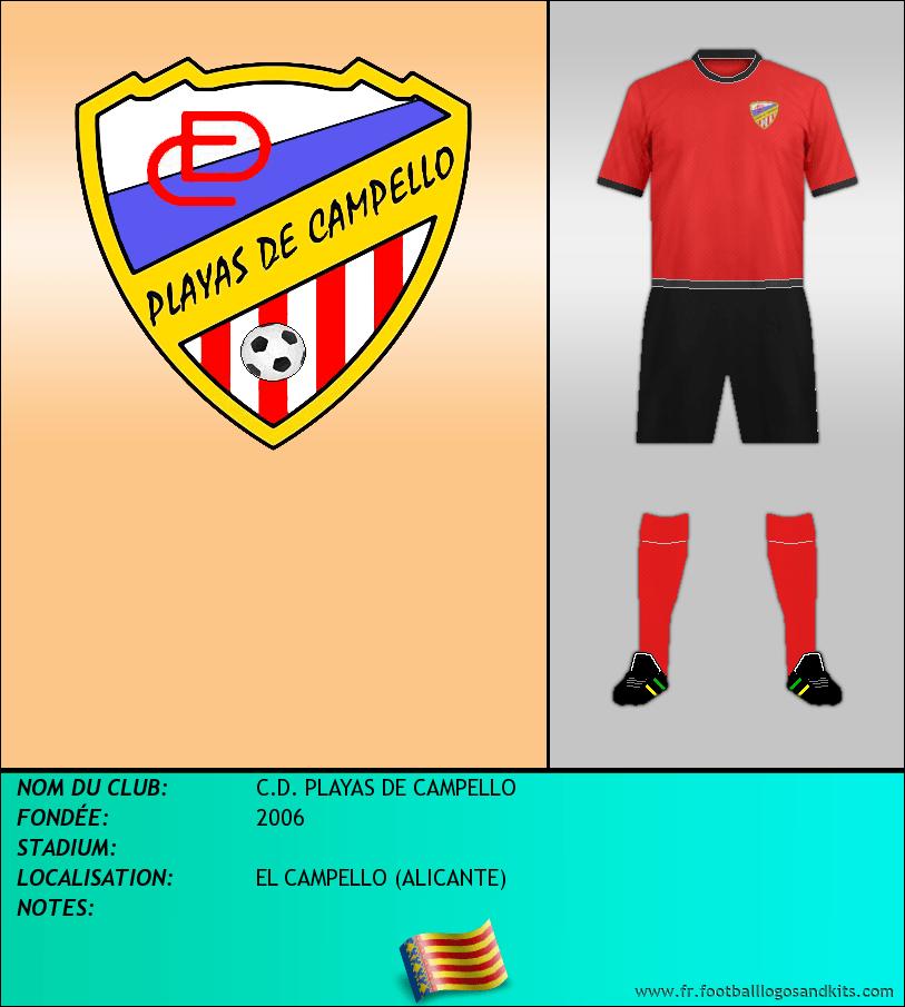 Logo de C.D. PLAYAS DE CAMPELLO