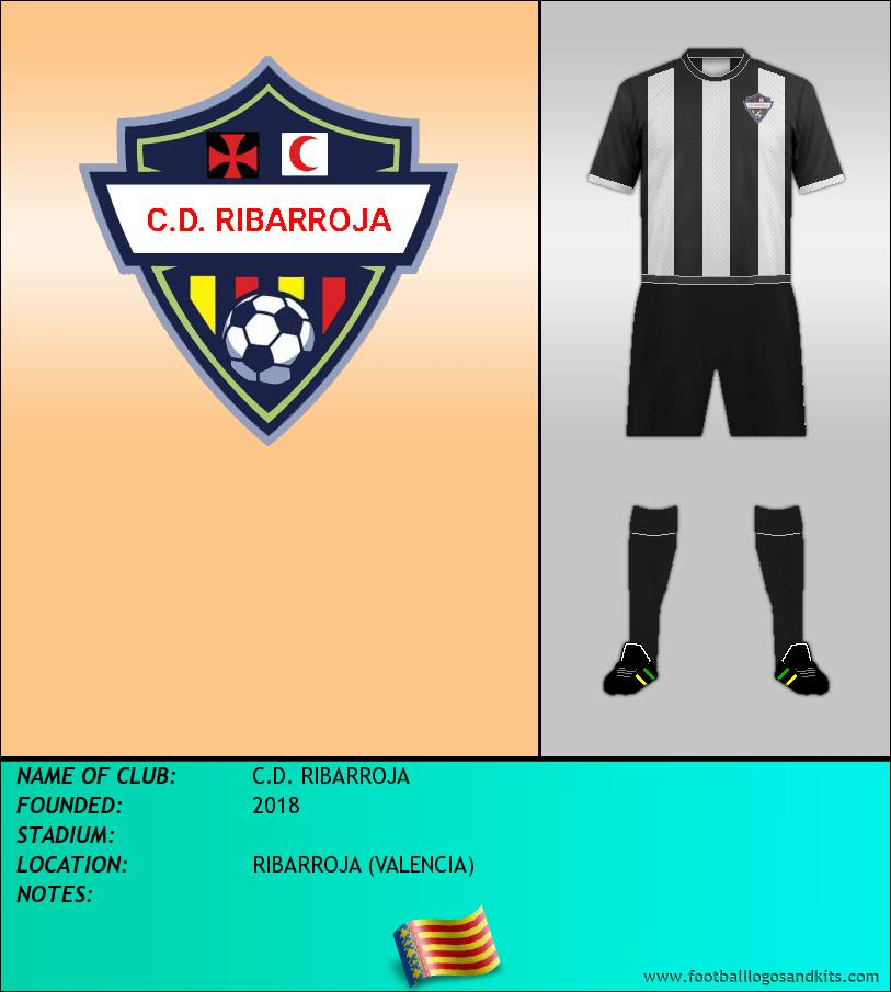 Logo of C.D. RIBARROJA