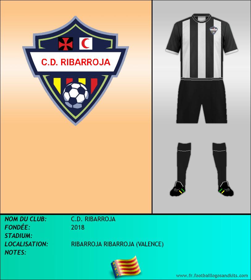 Logo de C.D. RIBARROJA