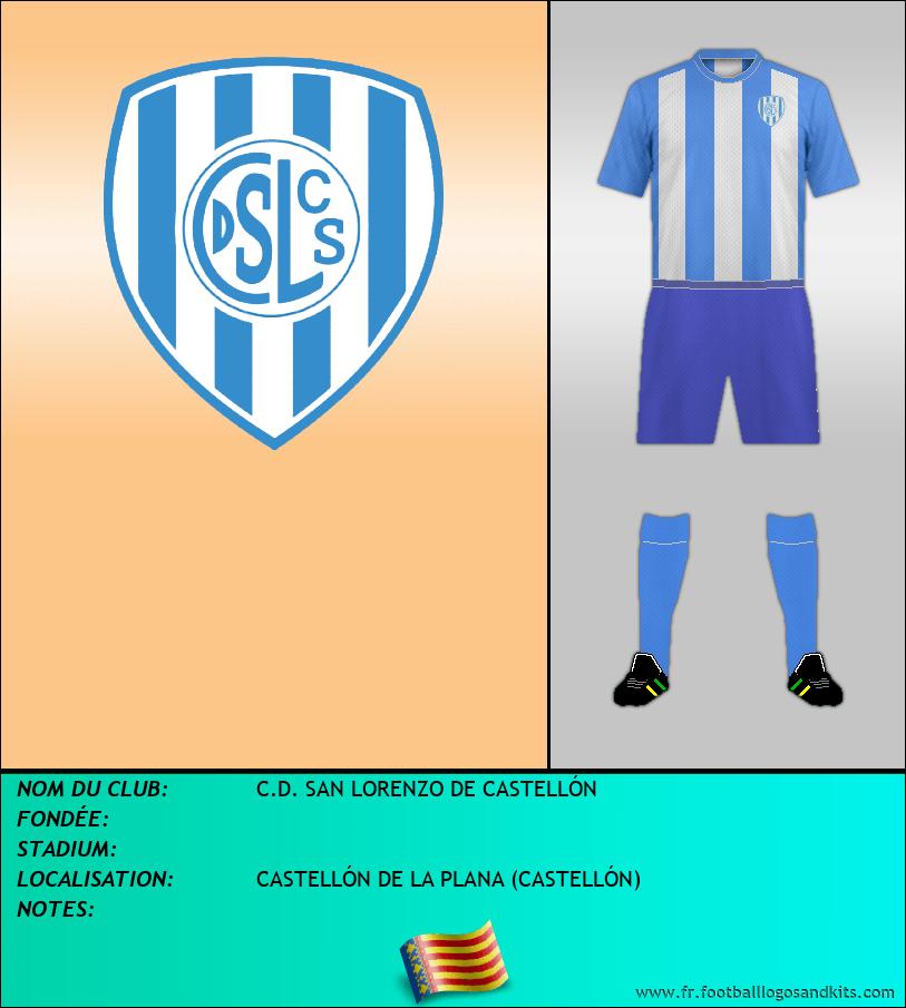 Logo de C.D. SAN LORENZO DE CASTELLÓN