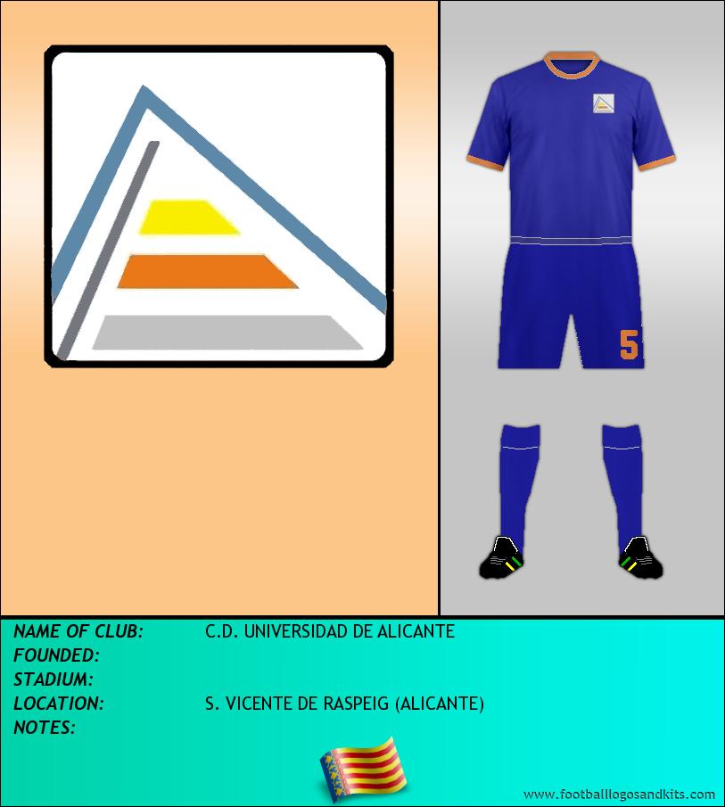 Logo of C.D. UNIVERSIDAD DE ALICANTE