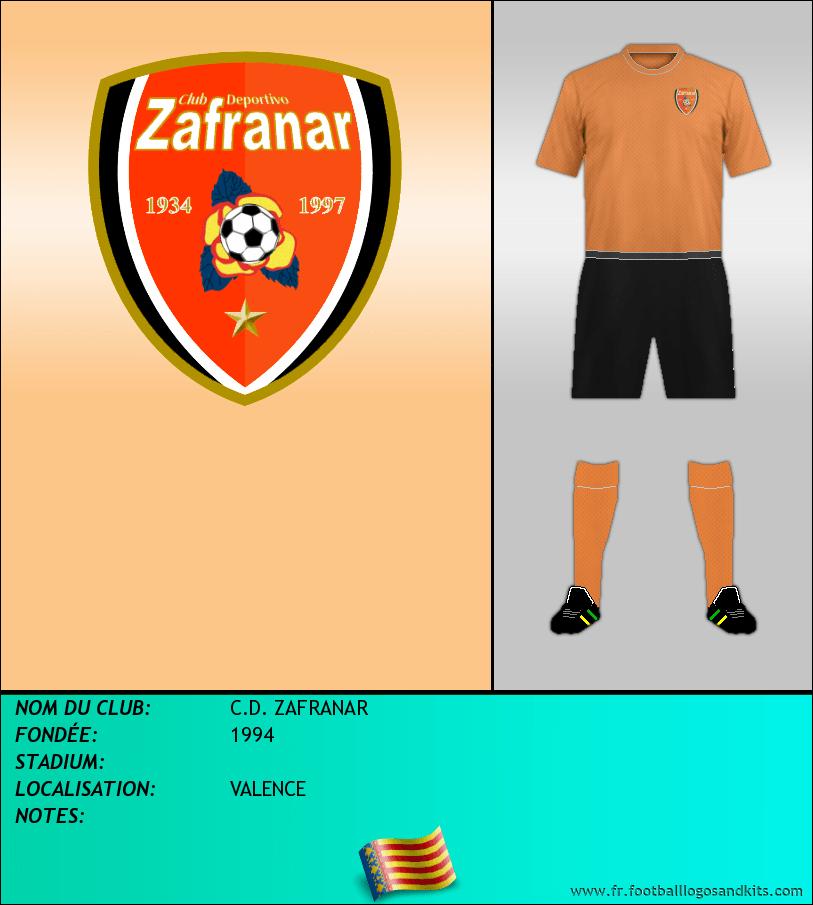 Logo de C.D. ZAFRANAR