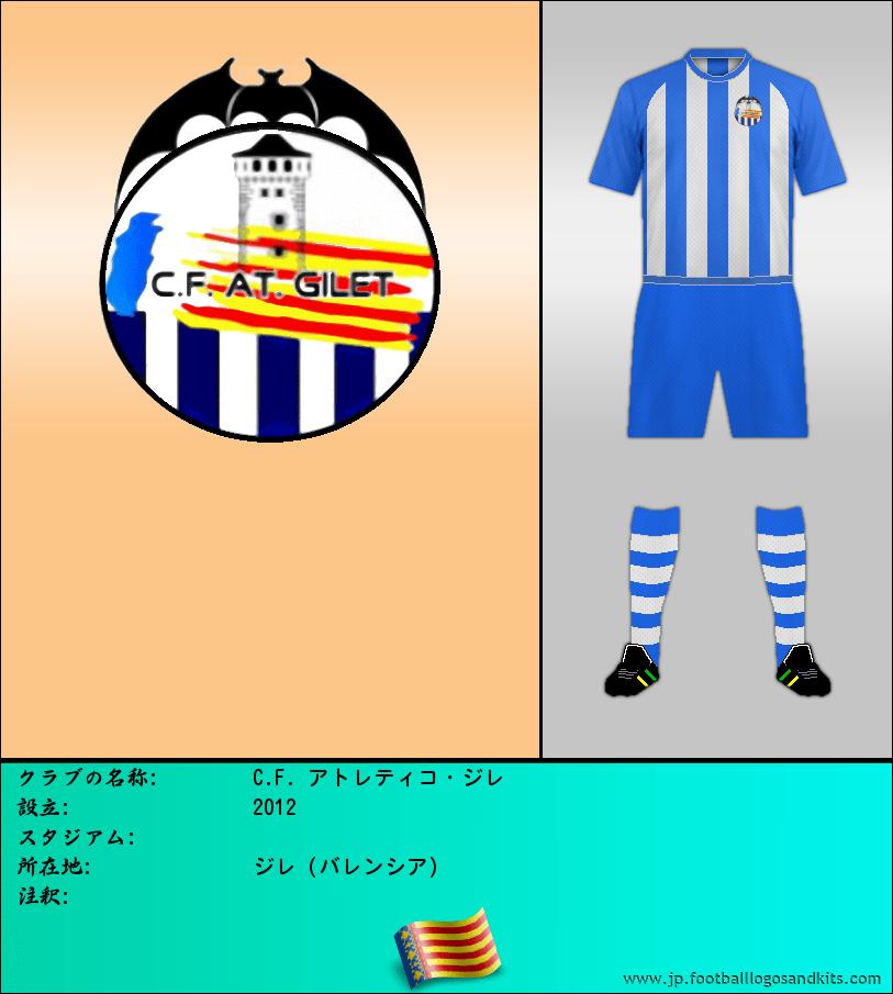 のロゴC.F. アトレティコ・ジレ