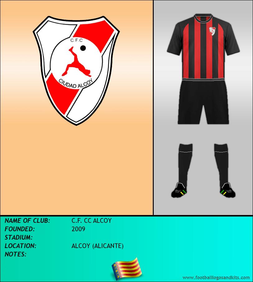 Logo of C.F. CC ALCOY