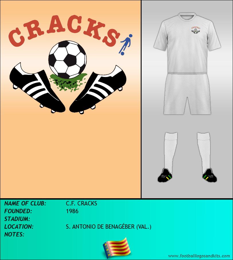 Logo of C.F. CRACKS