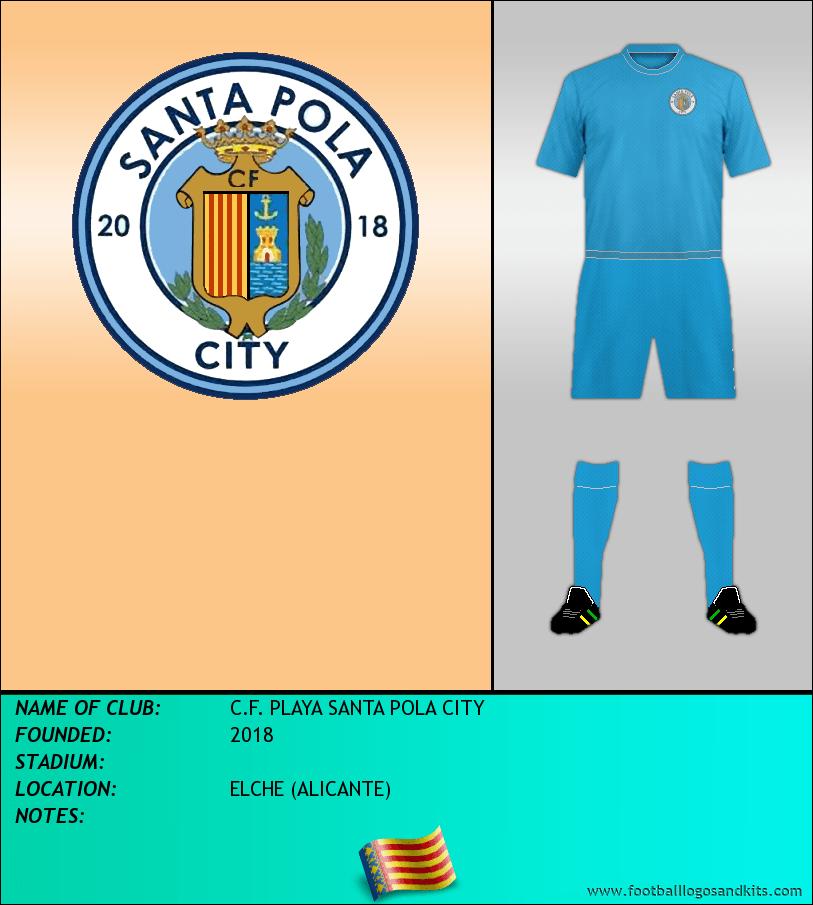 Logo of C.F. PLAYA SANTA POLA CITY