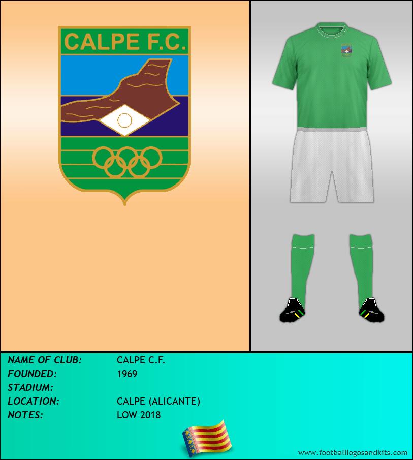 Logo of CALPE C.F.