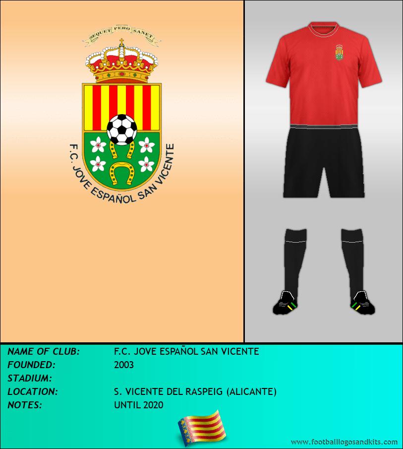Logo of F.C. JOVE ESPAÑOL SAN VICENTE