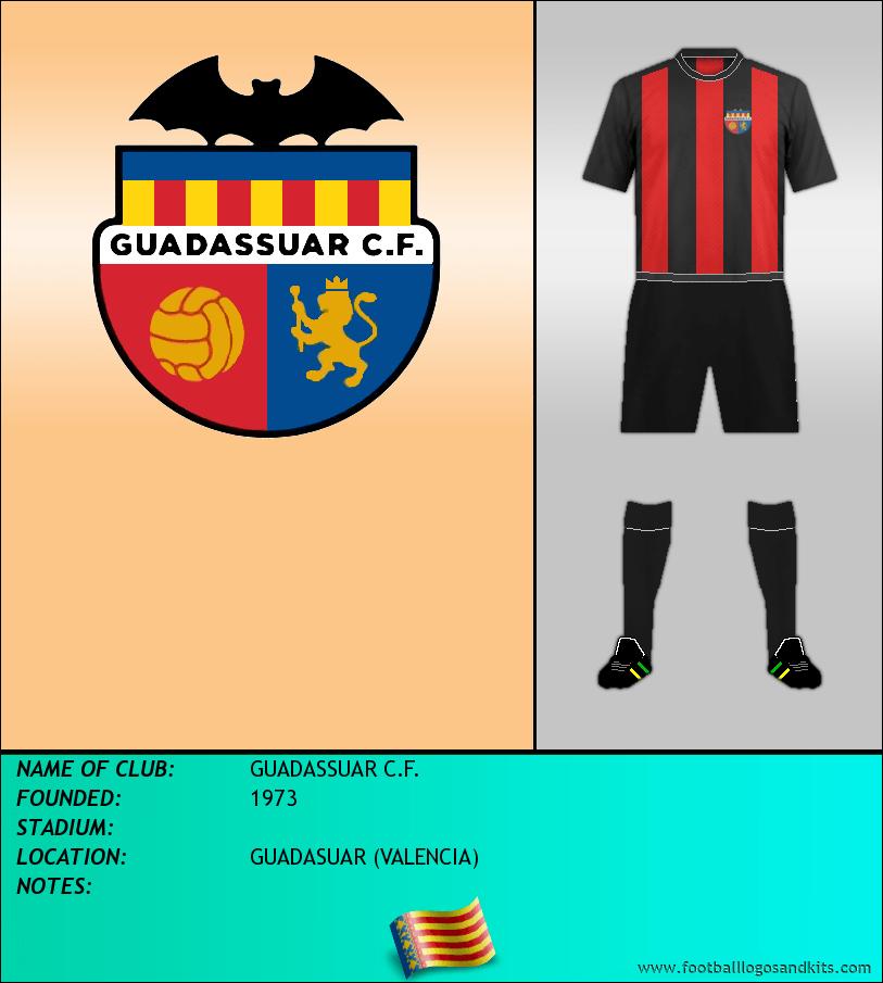 Logo of GUADASSUAR C.F.