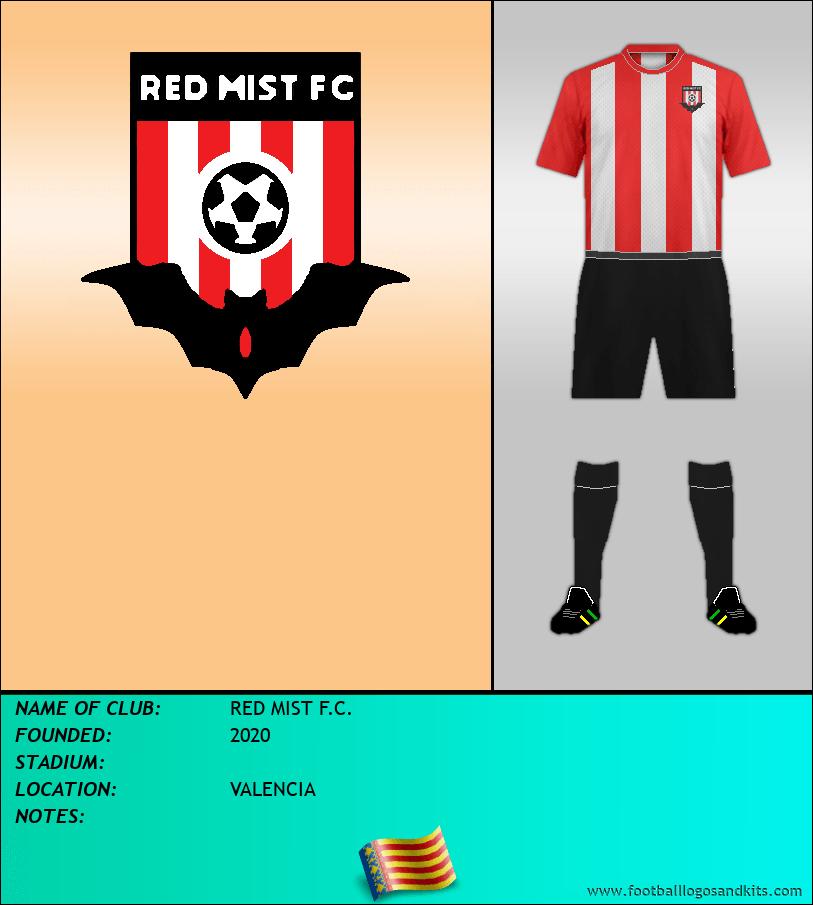 Logo of RED MIST F.C.