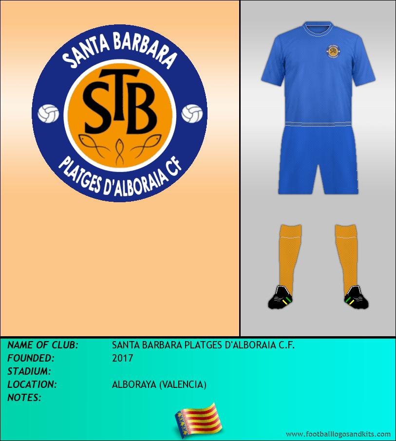 Logo of SANTA BARBARA PLATGES D'ALBORAIA C.F.
