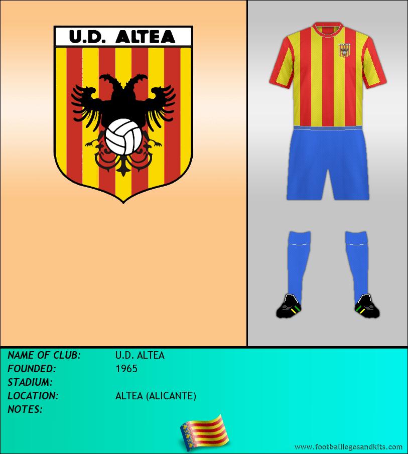 Logo of U.D. ALTEA