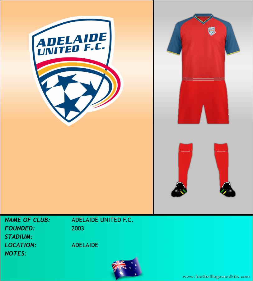 Logo of ADELAIDE UNITED F.C.