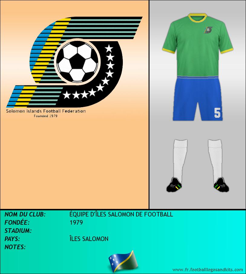 Logo de ÉQUIPE D'ÎLES SALOMON DE FOOTBALL