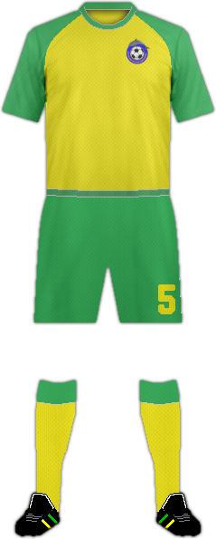 Kit NIUE NATIONAL FOOTBALL TEAM